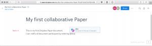 Dropbox Paper: Aufgeräumter Editor