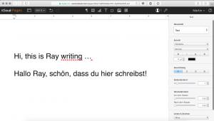 iCloud: Pages-Dokumente im Browser gleichzeitig bearbeiten